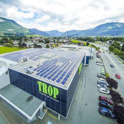 Photovoltaikanlage Trop St. Johann - Tirol