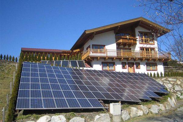 Photovoltaikanlage Privathaus