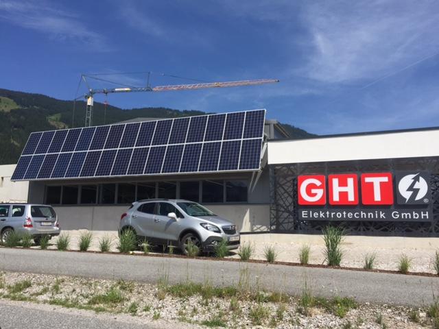 GHT Elektrotechnik in Saalfelden Photovoltaikanlage