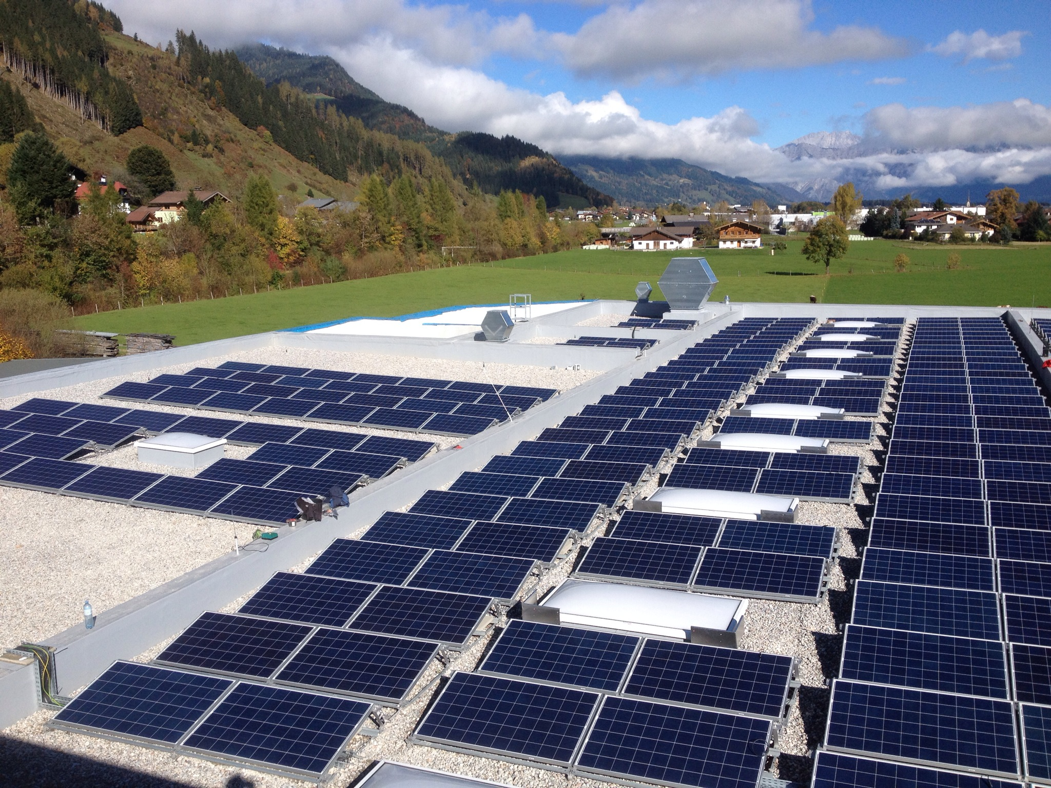 Hagleitner Hygiene International - Photovoltaikanlage