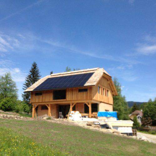 Indachanlage Lungau - Photovoltaik