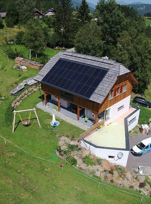 Photovoltaikanlage in Thomatal im Lungau Salzburg